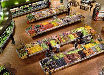 In a supermarket