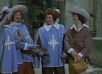 Мерси боку - Д'Артаньян и три мушкетера (1978)
